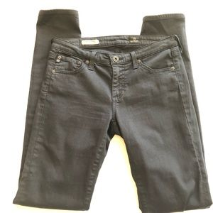 Adriano Goldschmied Black Skinny Jeans. Size 27R.